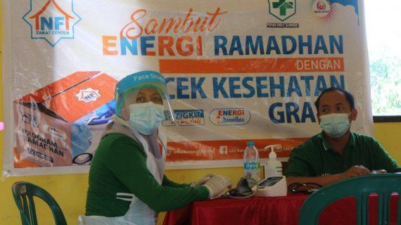 Menjelang Ramadhan LAZ Nurul Fikri Gelar Cek Kesehatan Gratis