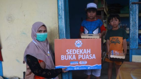LAZ Nurul Fikri Mengawali Ramadhan dengan Berbagi Sedekah Buka Puasa Door to Door